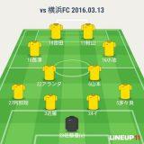 2016年J2第3節 ○1-0 横浜FC