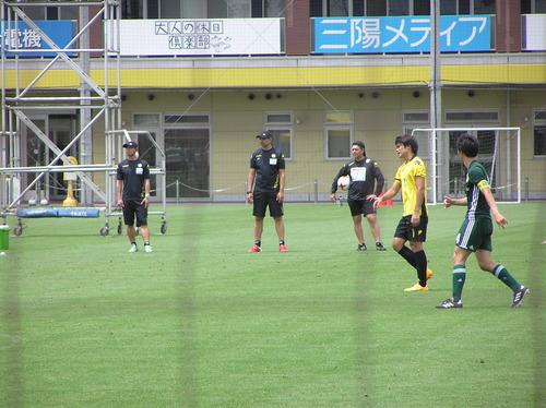 練習試合 vs明海大学 ○4-0